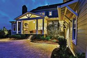 Craftsman Style House Plan - 4 Beds 5.5 Baths 3878 Sq/Ft Plan #927-5 Exterior - Rear Elevation
