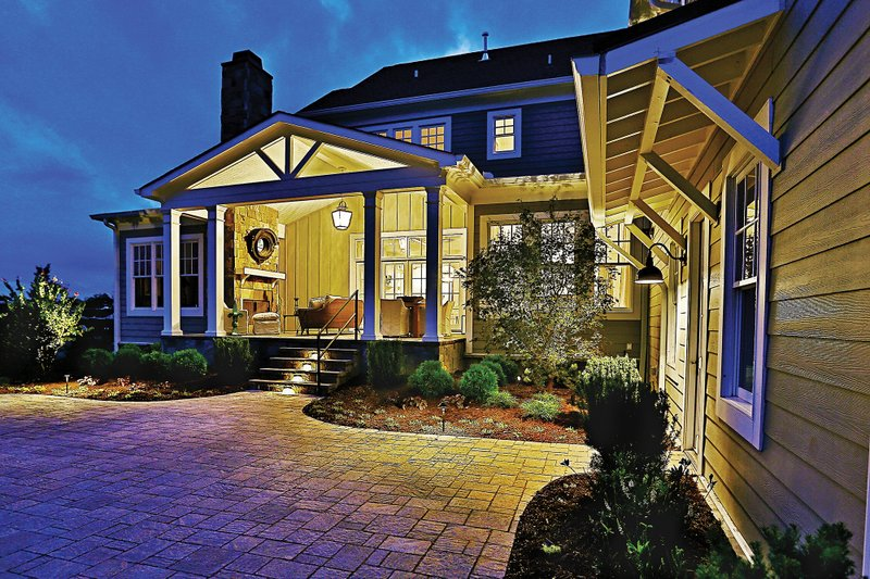 Craftsman Exterior - Rear Elevation Plan #927-5 - Houseplans.com