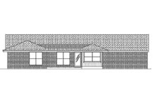 Ranch Exterior - Rear Elevation Plan #45-576