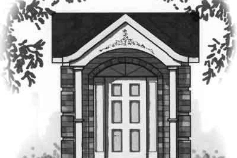 Cottage Exterior - Front Elevation Plan #23-462