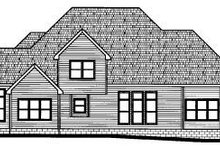 Traditional Exterior - Rear Elevation Plan #20-1129