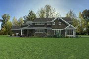 Craftsman Style House Plan - 4 Beds 3.5 Baths 3504 Sq/Ft Plan #48-1007 Exterior - Other Elevation