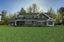 Dream House Plan - Craftsman Exterior - Other Elevation Plan #48-1007