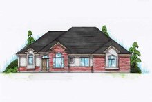 House Plan Design - Traditional Exterior - Front Elevation Plan #5-274