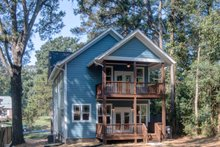 House Plan Design - Craftsman Exterior - Rear Elevation Plan #79-317