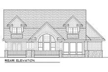 Craftsman Exterior - Rear Elevation Plan #70-995
