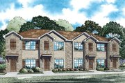 Traditional Style House Plan - 2 Beds 2 Baths 4212 Sq/Ft Plan #17-2467 Exterior - Front Elevation