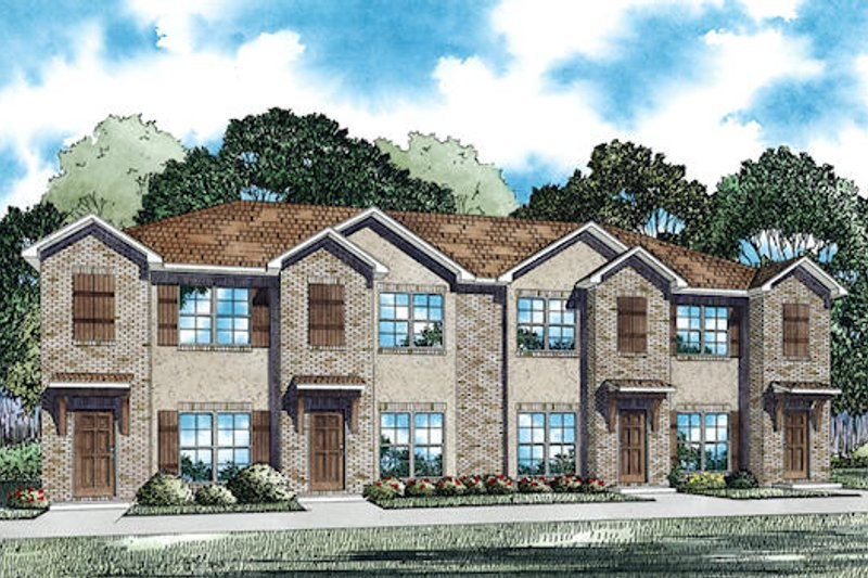 Home Plan - Traditional Exterior - Front Elevation Plan #17-2467