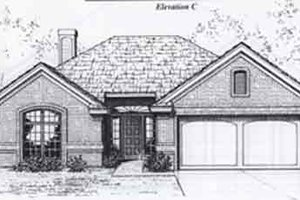 Traditional Exterior - Front Elevation Plan #310-887