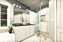 Home Plan - Traditional Interior - Bathroom Plan #44-236