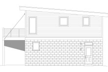 Architectural House Design - Contemporary Exterior - Rear Elevation Plan #932-46