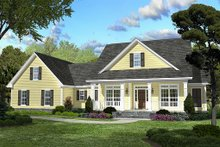 Home Plan - Country Exterior - Front Elevation Plan #430-45