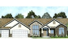 Dream House Plan - Traditional Exterior - Front Elevation Plan #58-199