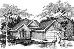 Traditional Exterior - Front Elevation Plan #329-112