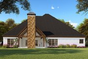 Craftsman Style House Plan - 4 Beds 3.5 Baths 2520 Sq/Ft Plan #923-148 Exterior - Rear Elevation