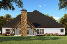 Craftsman Exterior - Rear Elevation Plan #923-148