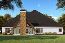 Architectural House Design - Craftsman Exterior - Rear Elevation Plan #923-148