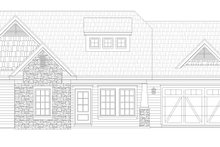 Dream House Plan - Craftsman Exterior - Front Elevation Plan #932-205