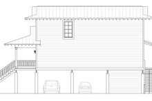 Beach Exterior - Other Elevation Plan #932-274