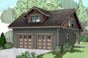 House Plan Design - Craftsman Exterior - Front Elevation Plan #124-635