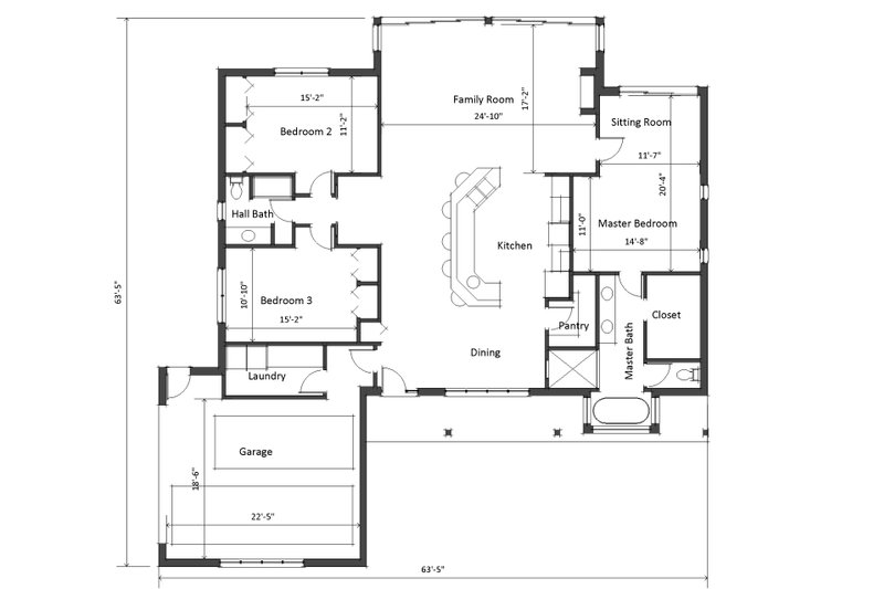 Ranch Style House Plan - 3 Beds 2 Baths 2100 Sq/Ft Plan #481-5 on 2400 sq ft home plans, 4500 sq ft home plans, 3800 sq ft home plans, 900 sq ft home plans, 3500 sq ft home plans, 2800 sq ft home plans, 2600 sq ft home plans, 4000 sq ft home plans, 800 sq ft home plans, 1100 sq ft home plans, 5000 sq ft home plans, 1750 sq ft home plans, 1700 sq ft home plans, 3000 sq ft home plans, 2300 sq ft home plans,