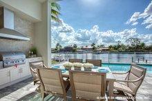 Dream House Plan - Contemporary Exterior - Outdoor Living Plan #930-504