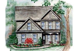 Farmhouse Exterior - Front Elevation Plan #54-129