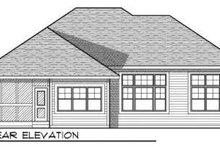 Craftsman Exterior - Rear Elevation Plan #70-723