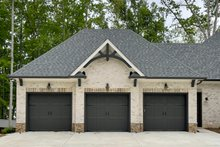 House Plan Design - Craftsman Exterior - Other Elevation Plan #437-124