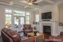 Home Plan - Craftsman Interior - Family Room Plan #929-824
