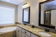 European Style House Plan - 3 Beds 3 Baths 1715 Sq/Ft Plan #929-957 Interior - Master Bathroom