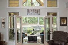Craftsman Interior - Family Room Plan #929-14