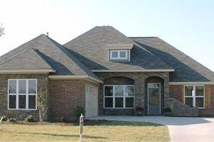Dream House Plan - European Exterior - Front Elevation Plan #63-256