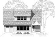 Traditional Style House Plan - 4 Beds 3 Baths 2143 Sq/Ft Plan #423-12 Exterior - Front Elevation