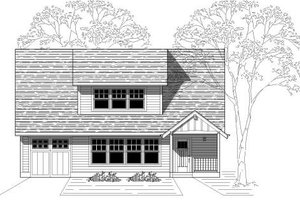 Traditional Exterior - Front Elevation Plan #423-12