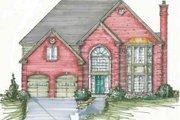European Style House Plan - 4 Beds 3.5 Baths 3800 Sq/Ft Plan #136-101