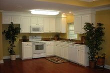 Traditional Interior - Kitchen Plan #430-38
