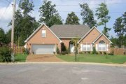 European Style House Plan - 3 Beds 2 Baths 2005 Sq/Ft Plan #81-1454 Exterior - Front Elevation
