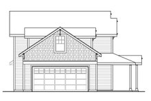 Home Plan - Country Exterior - Other Elevation Plan #124-1090