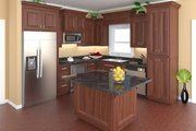 Traditional Style House Plan - 3 Beds 2 Baths 1853 Sq/Ft Plan #21-334 Interior - Kitchen