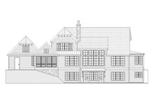 Country Exterior - Rear Elevation Plan #901-112