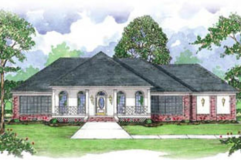 House Design - European Exterior - Front Elevation Plan #36-228