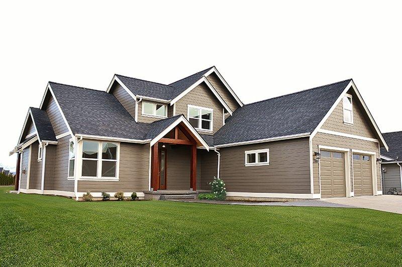 Craftsman Exterior - Front Elevation Plan #1070-11
