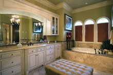 Mediterranean Interior - Master Bathroom Plan #453-604