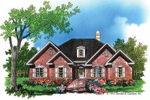 Ranch Exterior - Front Elevation Plan #929-663