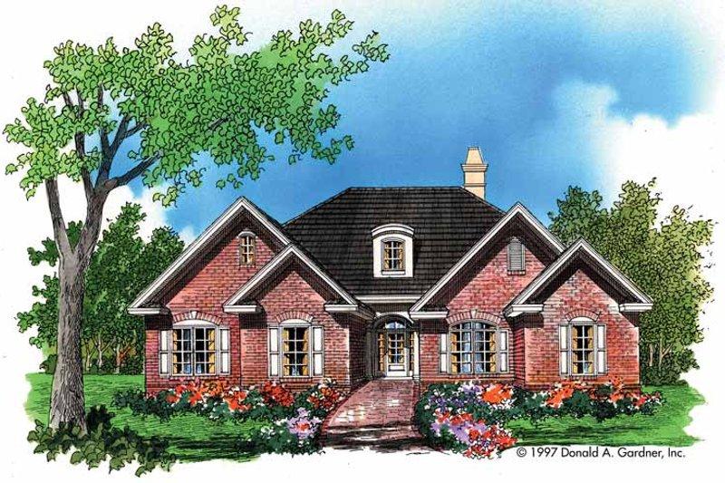 House Plan Design - Ranch Exterior - Front Elevation Plan #929-663
