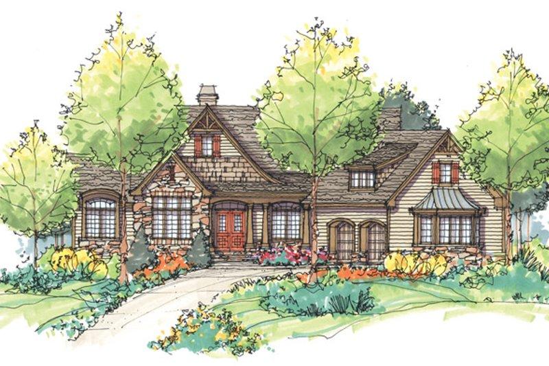 Craftsman Exterior - Front Elevation Plan #929-932 - Houseplans.com