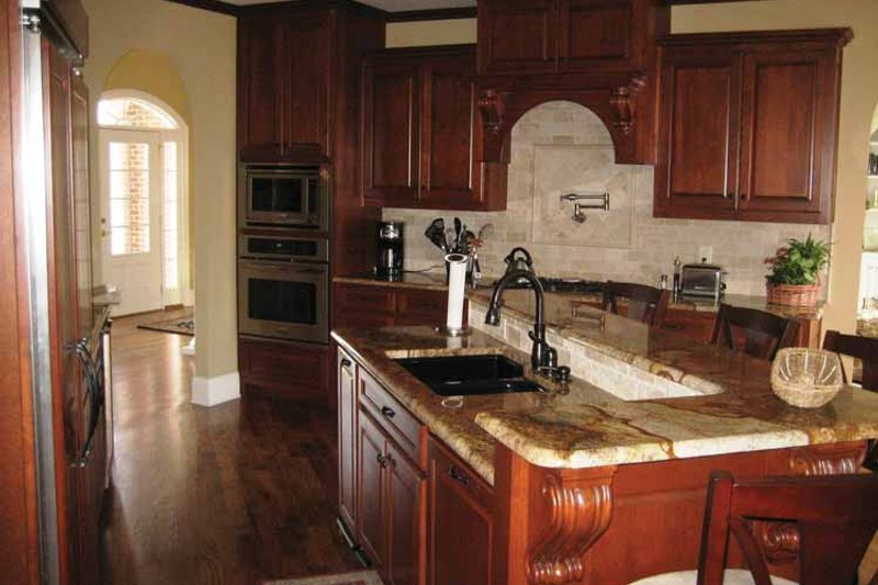 European Interior - Kitchen Plan #437-68 - Houseplans.com
