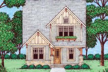 Craftsman Exterior - Front Elevation Plan #413-905