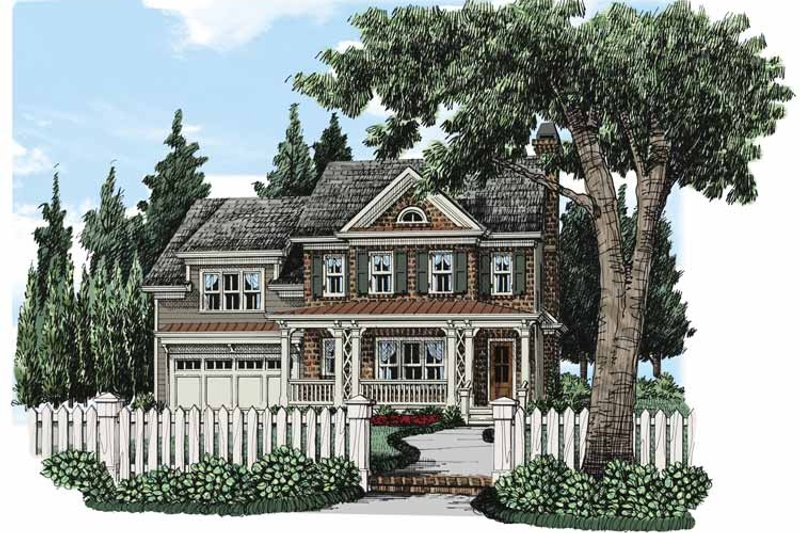 Traditional Exterior - Front Elevation Plan #927-494 - Houseplans.com
